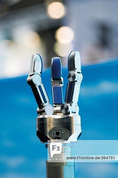 Nahaufnahme der Roboterarm