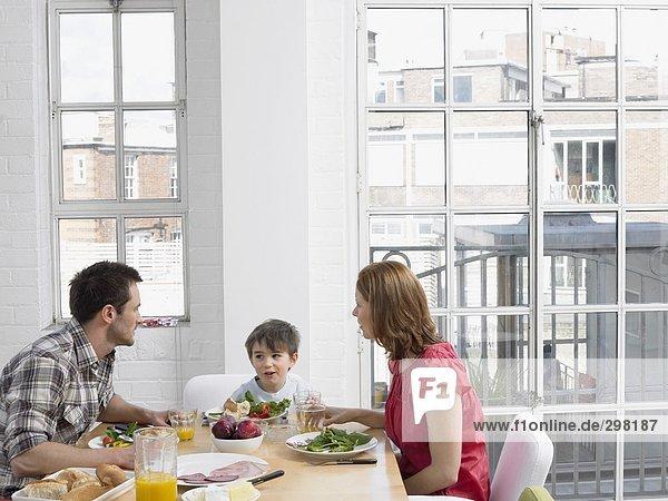 Städtische Familie