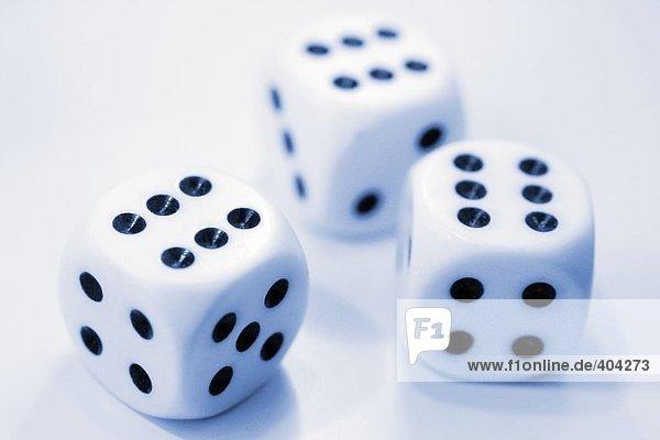 Nahaufnahme of dices