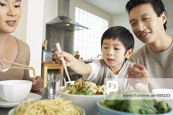 Chinesischen Familie