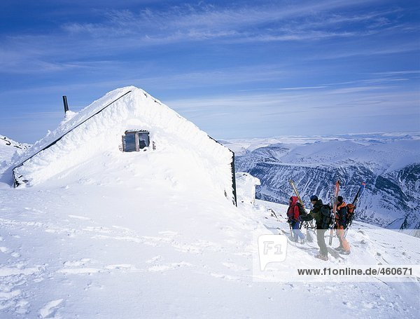 Berg Schnee Kabine