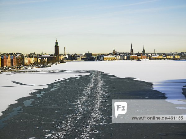 Winter in Stockholm.