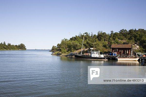Boot Holzweg Inselgruppe