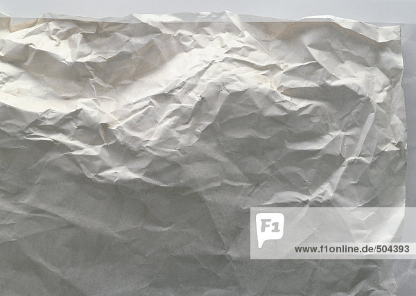Gefaltetes Blatt Papier  Nahaufnahme