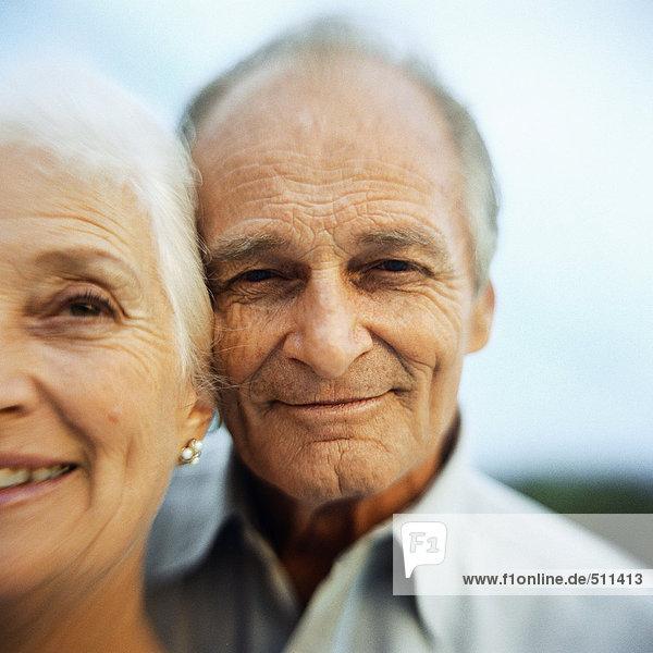 Porträt eines älteren Mannes und einer älteren Frau