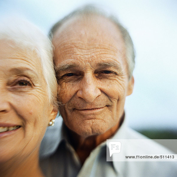 Portrait of senior man and woman