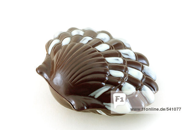 Chocolate seashell