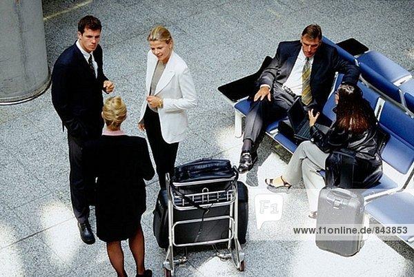 Büro am Flughafen