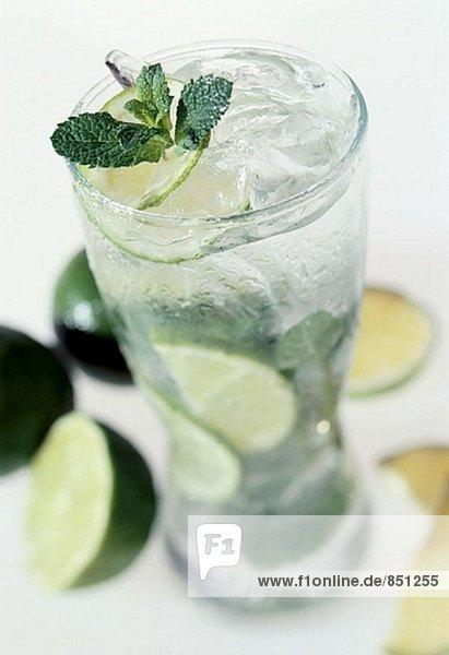 Drift-Eis mit Limes und Minze Drift-Eis mit Limes und Minze