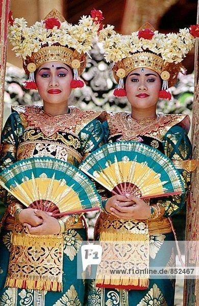 Legon Kraton Tänzer. Ubud. Bali. Indonesien