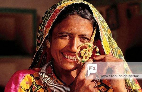 Woman of Kutch. Gujarat. India