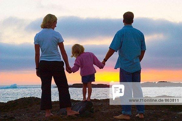 Sunset Familie