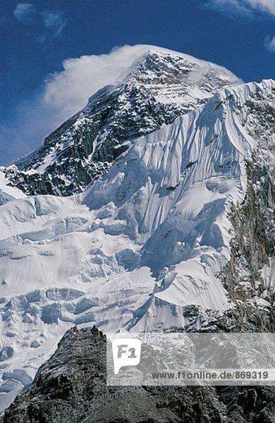Mount Everest. Himalaya. Nepal