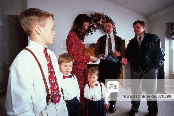 South Jordan Mormon Gemeinschaft. Von Salt Lake City. Utah. USA