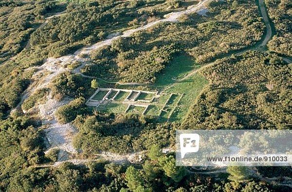 nahe Frankreich Ruine römisch Villa