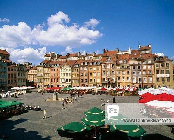Ryneg Starego Miasta Square. Altstadt. Warschau. Polen