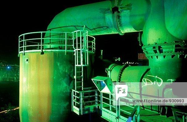 Thyssen Stahl Factory. Duisburg. Deutschland