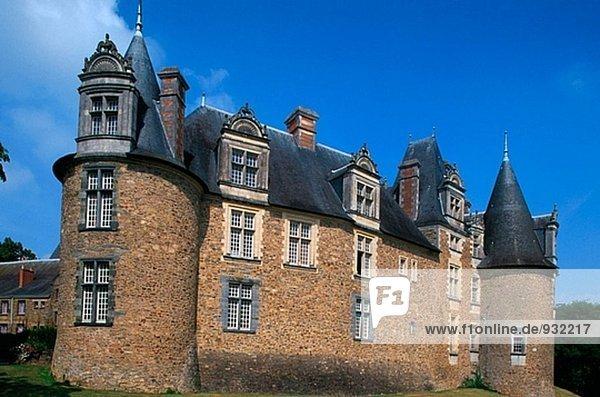 Château de Chateaubriant. Loire. France