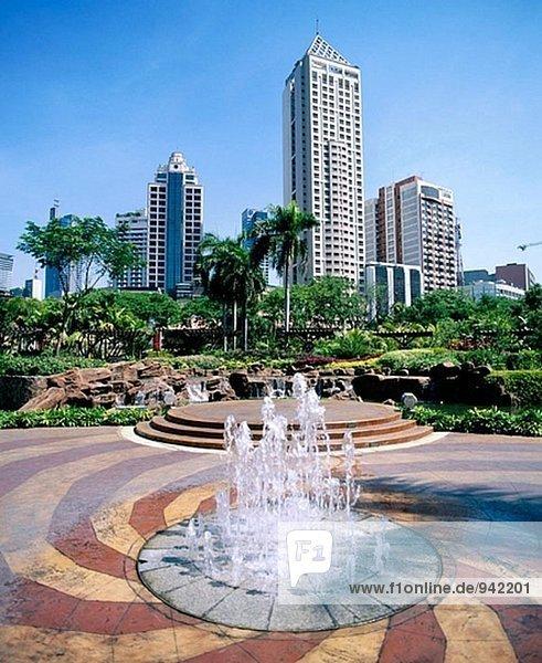 Greenbelt Square. Makati Bezirk. Manila. Philippinen