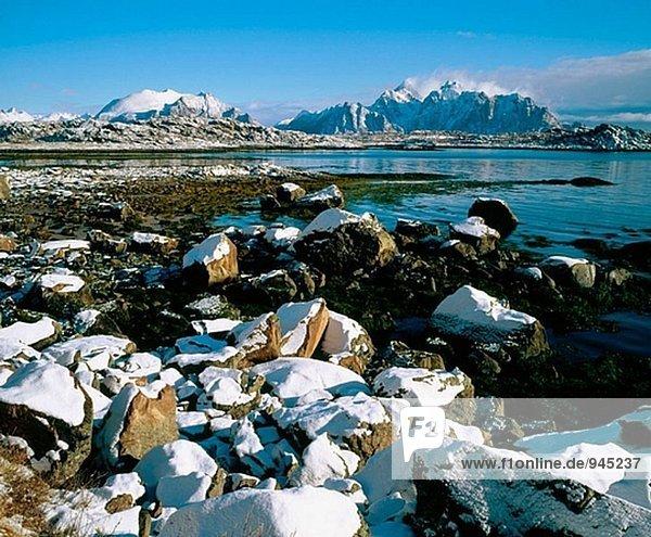 Vestvagoy Insel. Lofoten-Inseln. Norwegen