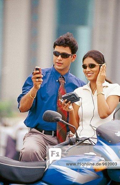 Geschäftsleute  Indien