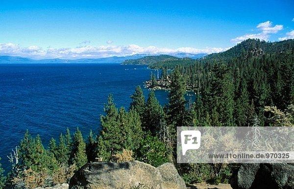 Tahoe Lake in Kalifornien  USA