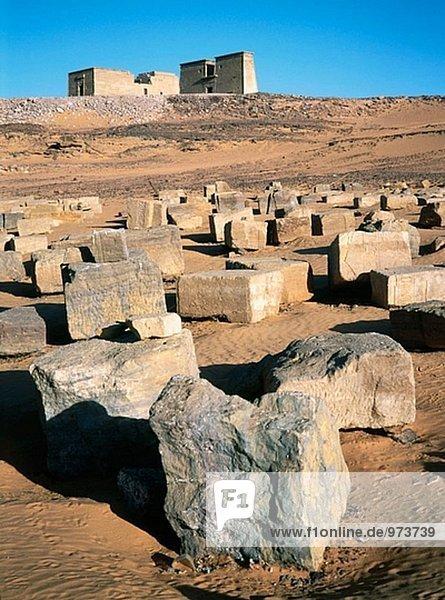 Temple of Dakka  site of Wadi el-Sebua. Nubia. Cruise on Lake Nasses. Egypt