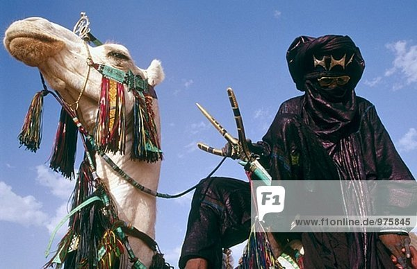 Tuaregs. Cure Salee Festival. River Niger. Republic of Niger.