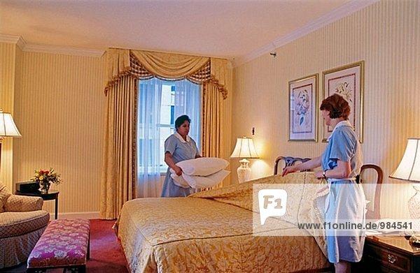 Suite Zimmer im Hotel. Seattle. Washington  USA