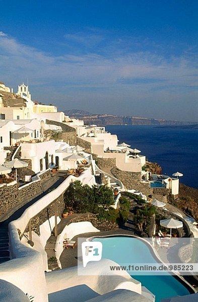Santorin Kykladen Griechenland Oia Ia