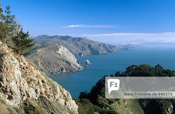 Vereinigte Staaten von Amerika USA Strand Zimmer Golden Gate Bridge Moor Kalifornien Entspannung