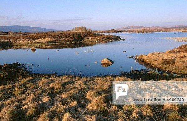 Pass von Glencoe. Highlands. Schottland. UK.