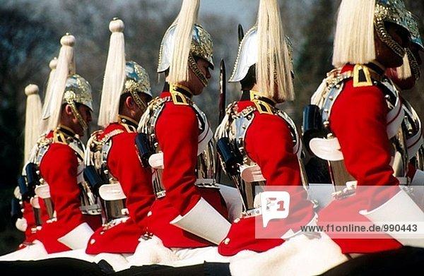 Horse guards  London. England  UK