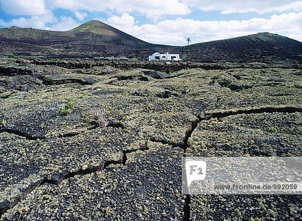 Kanaren Kanarische Inseln Nationalpark Timanfaya Lanzarote Spanien
