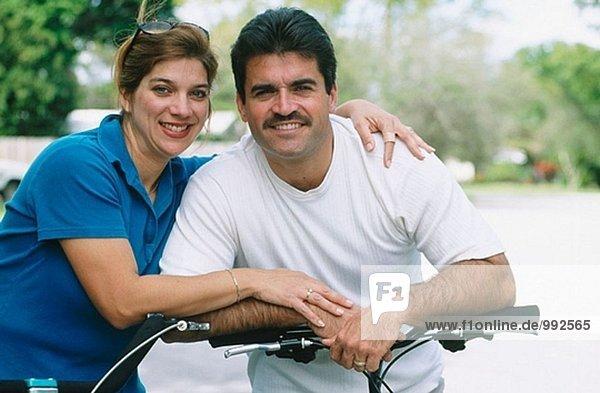 Hispanische paar