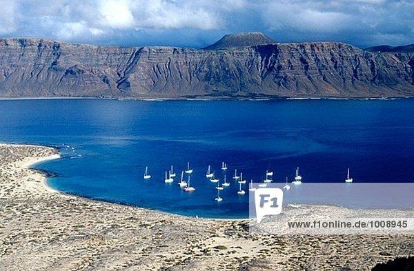 Insel La Graciosa  Kanarische Inseln. Spanien