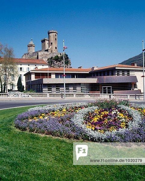 Frankreich Palast Schloß Schlösser Ariege Jahrhundert