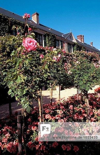 Frankreich Wohnhaus Garten Giverny