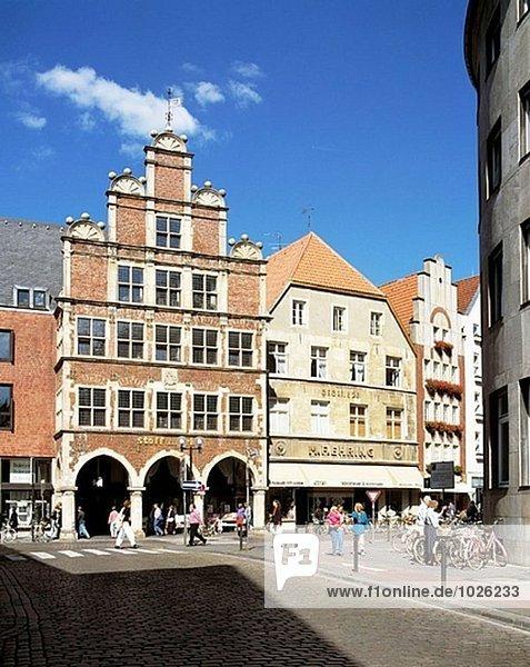 Germany  Münster  Münsterland  North Rhine-Westphalia  Guldenarm House