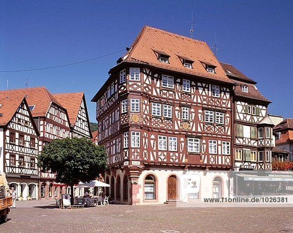 Marktplatz Baden-Württemberg Deutschland