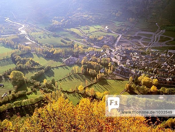 Benasque Tal. Pyrenäen. Spanien