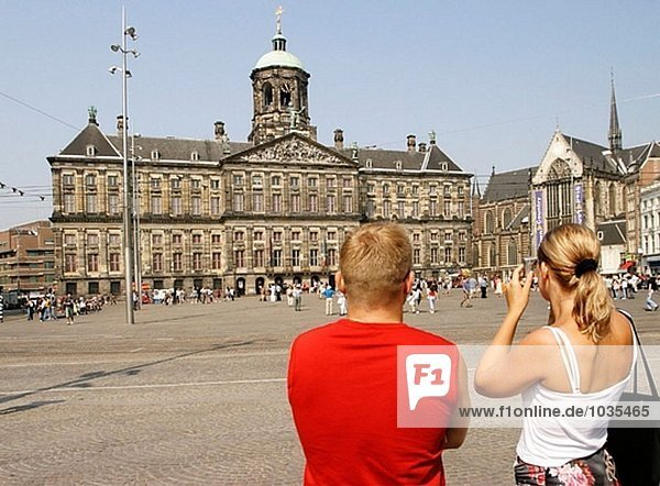 Royal Palace. Amsterdam. Holland