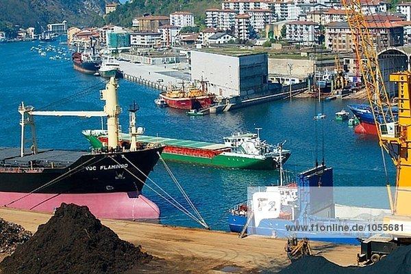 Pasajes Port  Donostia  Euskal Herria  Spanien