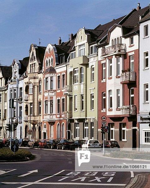 Germany: Düsseldorf-Oberkassel  North Rhine-Westphalia  art nouveau houses
