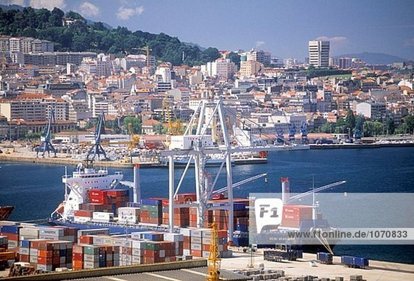 Seehafen. Vigo. Spanien