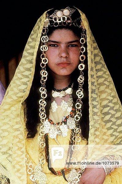 Bedouin wedding ceremony. Tataouine  South oasis. Tunisia