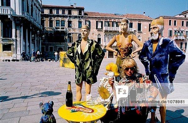 New Style Fashion. Venedig. Italien.