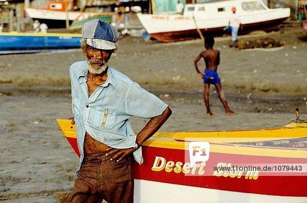 Fisherman. Grenada Island. Caribbean
