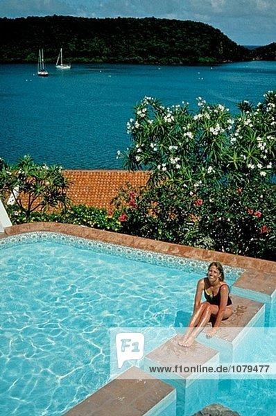 Insel Grenada. Karibik