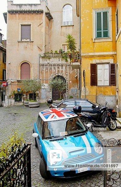 Trastevere Quartal. Rom. Italien